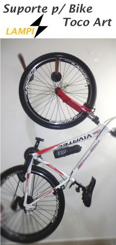 8a51d39d5 Suporte p  Bike Toco Art Várias opções de fixação de sua Bike. Contato  47  8803 5290 lampidesign gmail.com