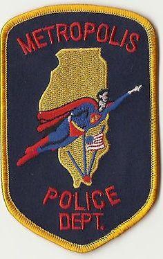 Metropolis Illinois Police