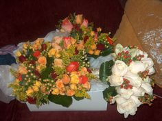 Bouquets, for my fall wedding October 2006