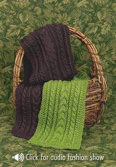 Free Knitting Pattern - Scarves: Zurich Scarf