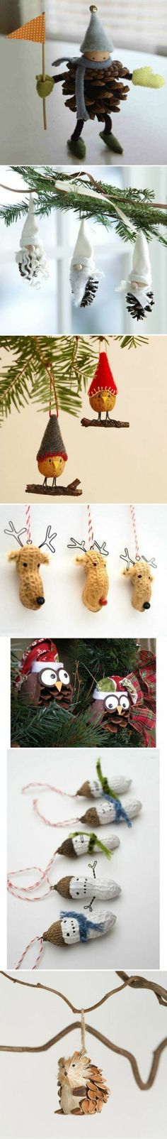 Make 1000 ideas for Christmas decorations – Christmas crafts – Alleideen 1 – Christmas Ideas Noel Christmas, Homemade Christmas, All Things Christmas, Winter Christmas, Christmas Ornaments, Diy Ornaments, Funny Christmas, Pinecone Ornaments, Miniature Christmas