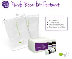 Our Purple Rose Essential Oil Treatment is great for delivering high quality moisture to dry, brittle hair. Also, perfect for the upcoming Winter months!