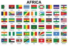 African countries flag buttons vector image on VectorStock Flags Of European Countries, All African Countries, Countries And Flags, Countries Of The World, Country Flags Icons, World Country Flags, Flag Country, Country Art, All World Flags