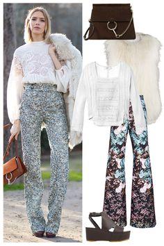 Shop the Street Style Look: Haute Hippie  - HarpersBAZAAR.com