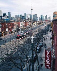 Toronto, capital city of Ontario, Canada. Toronto Street, Toronto City, Downtown Toronto, Toronto Skyline, Toronto Photography, City Photography, Toronto Canada, Ontario, Vancouver