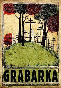 Ryszard Kaja - Grabarka, polski plakat turystyczny