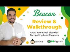 Beacon is an all-in-one solution that lets you easily create and publish lead magnets (ebooks, checklists, resource guides, etc. Marketing Tools, Email Marketing, Lead Magnet, Your Email, Email List, Insight, Magnets, Blogging, Software