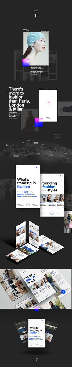 Concept for fashion forecatsing and trend prediction.This app scans the social web (Facebook, Twitter, Instagram, Lookbook, ... and even blogs of leading guru's in every area of fashion to see which products are most mentioned, anticipated, hyped, liked…: