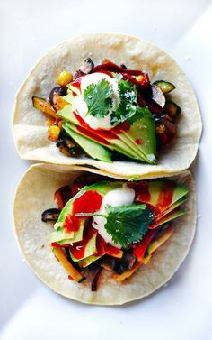Vegetable Tacos | Clementine Daily