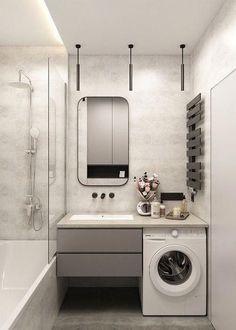 Most Popular Small Bathroom Remodel Ideas on a Budget in 2018 This beautiful loo… – Badezimmer Ideen Small Bathroom Cabinets, Bathroom Vanity Tops, Budget Bathroom, Bathroom Design Small, Bathroom Interior Design, Bathroom Renovations, Modern Bathroom, Master Bathroom, Bathroom Ideas