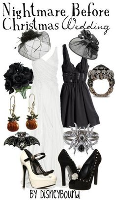 DisneyBound - Nightmare Before Christmas - Wedding