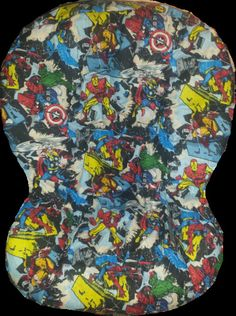 Marvel Car Seat Cover Fits Britax Universal Fit to by flashybaby