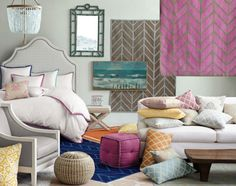 pillows and area rugs