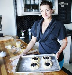 Gluten-Free Recipe: Karen Morgan's Blueberry Galettes Chef Recipe