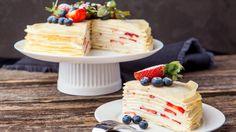 Vanilla Cake, Pancakes, Breakfast, Desserts, Recipes, Food, Morning Coffee, Tailgate Desserts, Deserts