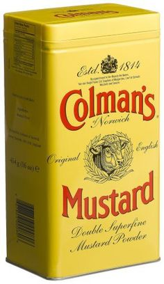 Colman's Mustard Powder, 16-Ounce Cans (Pack of 3) - http://spicegrinder.biz/colmans-mustard-powder-16-ounce-cans-pack-of-3/