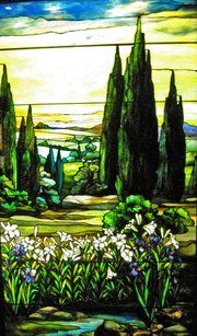 Louis Comfort Tiffany stained glass