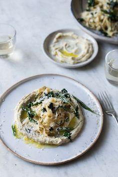 Anna Barnett Recipe: Homemade Tagliatelle With Bay, Cavolo Nero And Celeriac Mash | British Vogue
