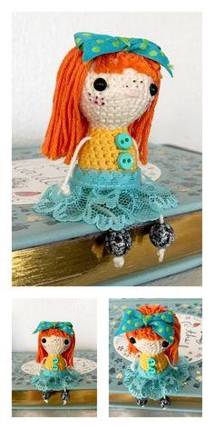 Amigurumi Unicorn Girl Doll Free Pattern Unicorn Ears, Unicorn Doll, Amigurumi Doll, Amigurumi Patterns, Crochet Patterns, Last Stitch, Hello Dear, Slip Stitch, Stitch Markers