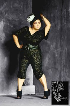 Erzullie Jumpsuit Holiday 2010. Model: Berna C.