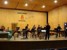 """El Conservatorio Municipal de Música """"Alto Palancia"""" de Segorbe ofrece un concierto de percusión para escolares"""