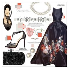 """My Prom Dream"" by chocolate-addicted-angel ❤ liked on Polyvore featuring Diamonds Unleashed, Marchesa, Elie Saab and Christian Louboutin"