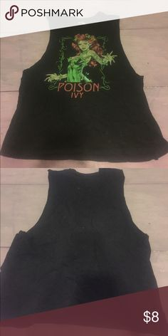 Dc comics shirt Poison ivy tank top! From hot topics dc comics collection Hot Topic Tops Muscle Tees