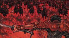Shimazu Drifters Anime Samurai Battle Wallpaper
