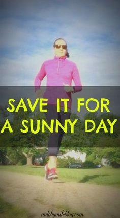 When you can only run 3 days a week, it's nice to save it for a sunny day rather than running in the rain! Training For A 10k, Race Training, Half Marathon Training, Training Plan, Running Training, Running Injuries, Running Workouts, Running Tips, Workout Tips