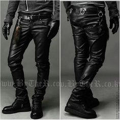 Taobao  Men's 2012 new Korean men's boots leather pants pants pants men's leather pants feet pants leggings locomotive tide pants china english wholesale