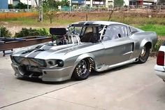 Ford Mustang Drag Car Race Car Wallpapers Of 1967 Ford Mustang Shel Gt500 Drag Car Cars Pinterest Ford On Ford Mustang Car Images
