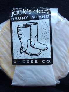 Whiskey washed cheese.