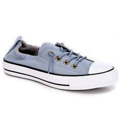 2f704a3c4225 Converse Women s Chuck Taylor All Star Shoreline Low Top Sneaker. Color   Blue Skate