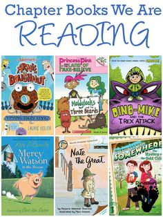 Chapter Books We Are Exploring Summer 2015: The Adventures of Arnie the Doughnut, Mercy Watson, Dino-Mike, Nate the Great, Princess Pink and the Land of Fake-Believe, Greetings From Somewhere - 3Dinosaurs.com