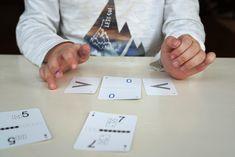 Jak nauczyć dziecko dodawania i odejmowania w głowie? Karty matematyczne Grabowskiego! Playing Cards, Education, Games, Diy, Bricolage, Playing Card Games, Gaming, Toys, Handyman Projects