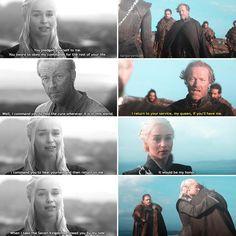 "Polubienia: 47, komentarze: 7 – ♚game of thrones♔ (@targaryenium) na Instagramie: ""[6x05 + 7x05] [parallel and reunion] [fc; 184] ▫ —q; do you ship daenerys and jorah? ▫ [tags,…"""