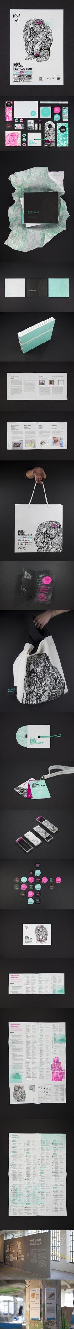 Lodz Design Festival //illustration, identity, packaging, branding