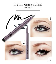 What's your favourite way to apply eye liner? With The ONE Eye Liner Stylo, you can start mastering all your preferred eye looks, now with lasting precision!