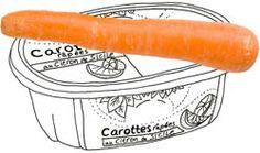 Wortelsalade: zelf raspen of uit een bakje?