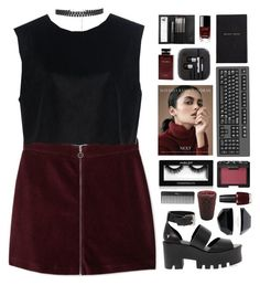 """"""" Reckless behavior. """" by centurythe ❤ liked on Polyvore featuring MANGO, Ava Catherside, Windsor Smith, Pier 1 Imports, Smythson, NARS Cosmetics, Chanel, Inglot, Dolce & Gabbana Fragrance and Sephora Collection"""