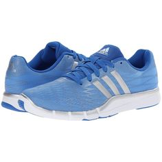 adidas A.T. 360.2 Prima Women's Cross Training Shoes, Blue ($63) ❤ liked on Polyvore featuring shoes, athletic shoes, blue, adidas footwear, blue shoes, laced up shoes, synthetic shoes and laced shoes