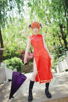 Silver soul music cosplay | half of the yuan - the first Chinese COS painting novel community Anime Cosplay Girls, Kawaii Cosplay, Cute Cosplay, Cosplay Dress, Amazing Cosplay, Best Cosplay, One Piece Cosplay, Otaku, Okikagu