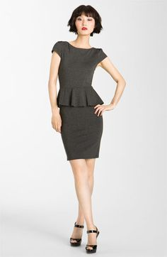 Not sure I love the peplum look, but if I did, this dress nails it.