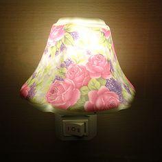 Ücretsiz nakliye ücretsiz nakliye enerji tasarrufu anahtarı seramik gece lambası takılı yaratıcı bebek bebek odası başucu lambası avrupa ar