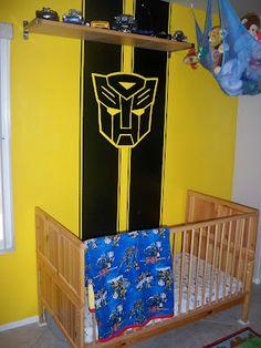 Heather U0026 Jon: Transformers Little Boysu0027 Bedroom