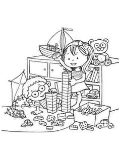 Coloring page. Information Age, Jouer, Coloring Pages For Kids, Snoopy, Play, Fictional Characters, Art, Children, Kids Coloring Pages