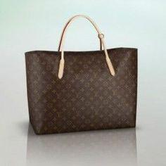 5312c1c4281 M40609 Louis Vuitton 2012 Monogram Raspail Tote Handbag -GM Canvas  Handbags