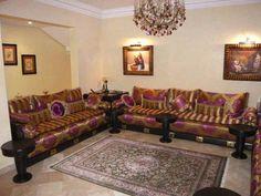 Salon marocain - tapiseerie marrakech Maroc -fabrication Fauteuils ...