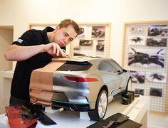 Clay modelling the #Jaguar I-Pace concept model. Design story on https://www.formtrends.com/jaguar-i-pace-concept-electric-vehicle-design-new-dimension/