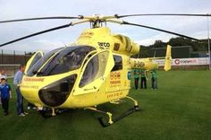 Colne Valley Lions Club donates £5,000 to Yorkshire Air Ambulance